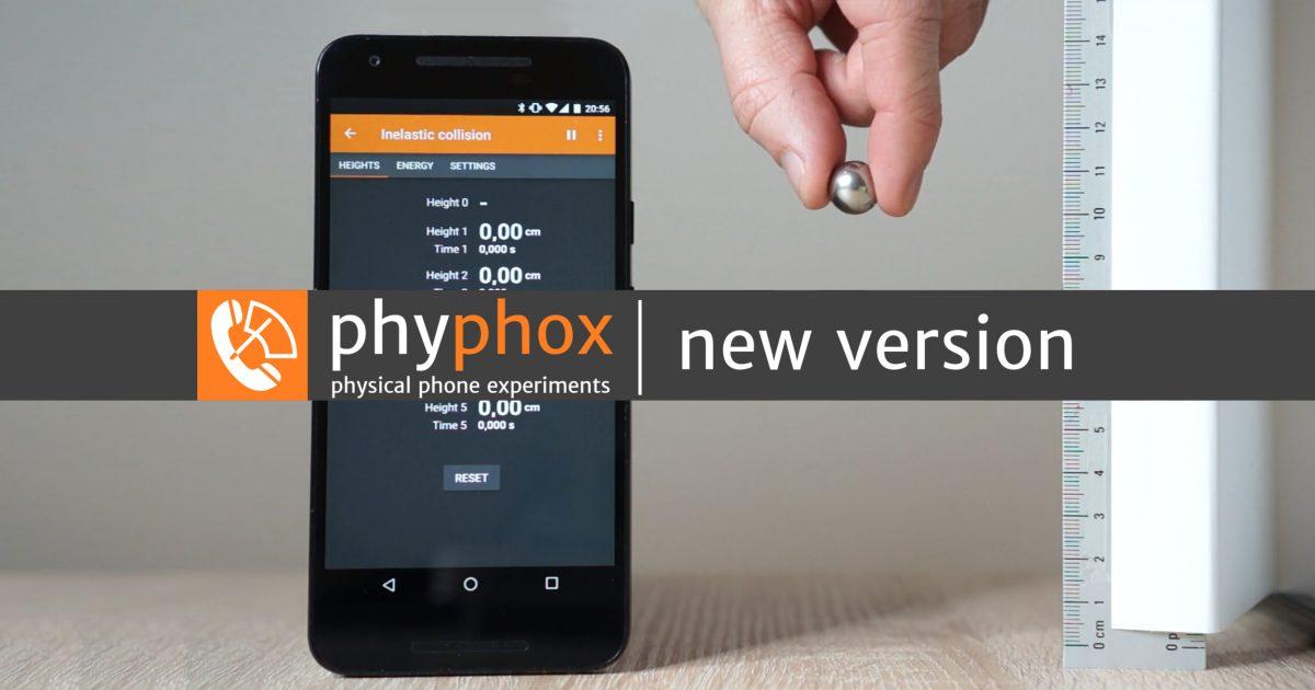 Version 1.0.6 (Neue Experimente, kleine Verbesserungen)