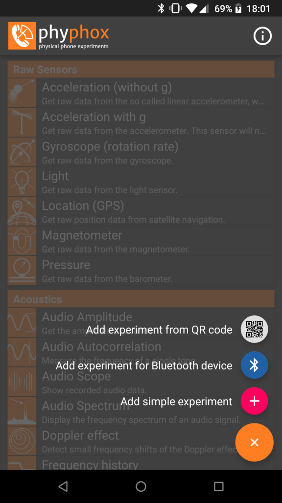 Bluetooth Low Energy – phyphox