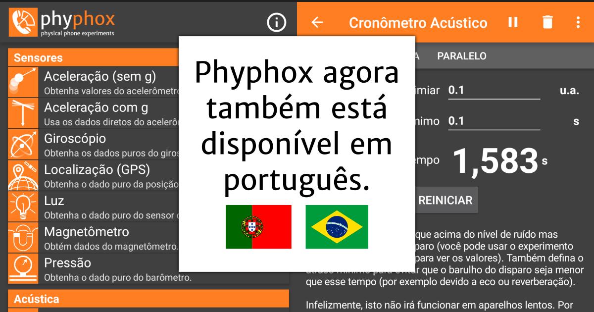 Version 1.0.14: Portugiesische Übersetzung