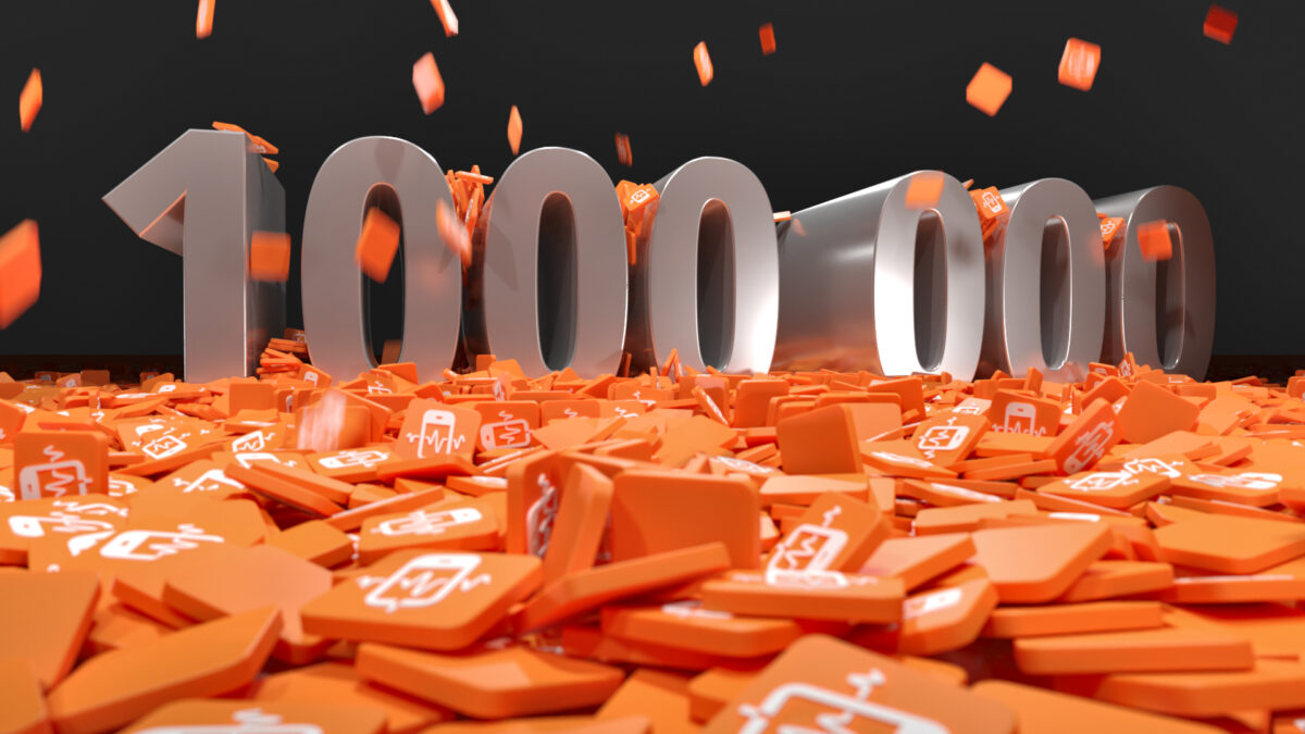 1 million installations!
