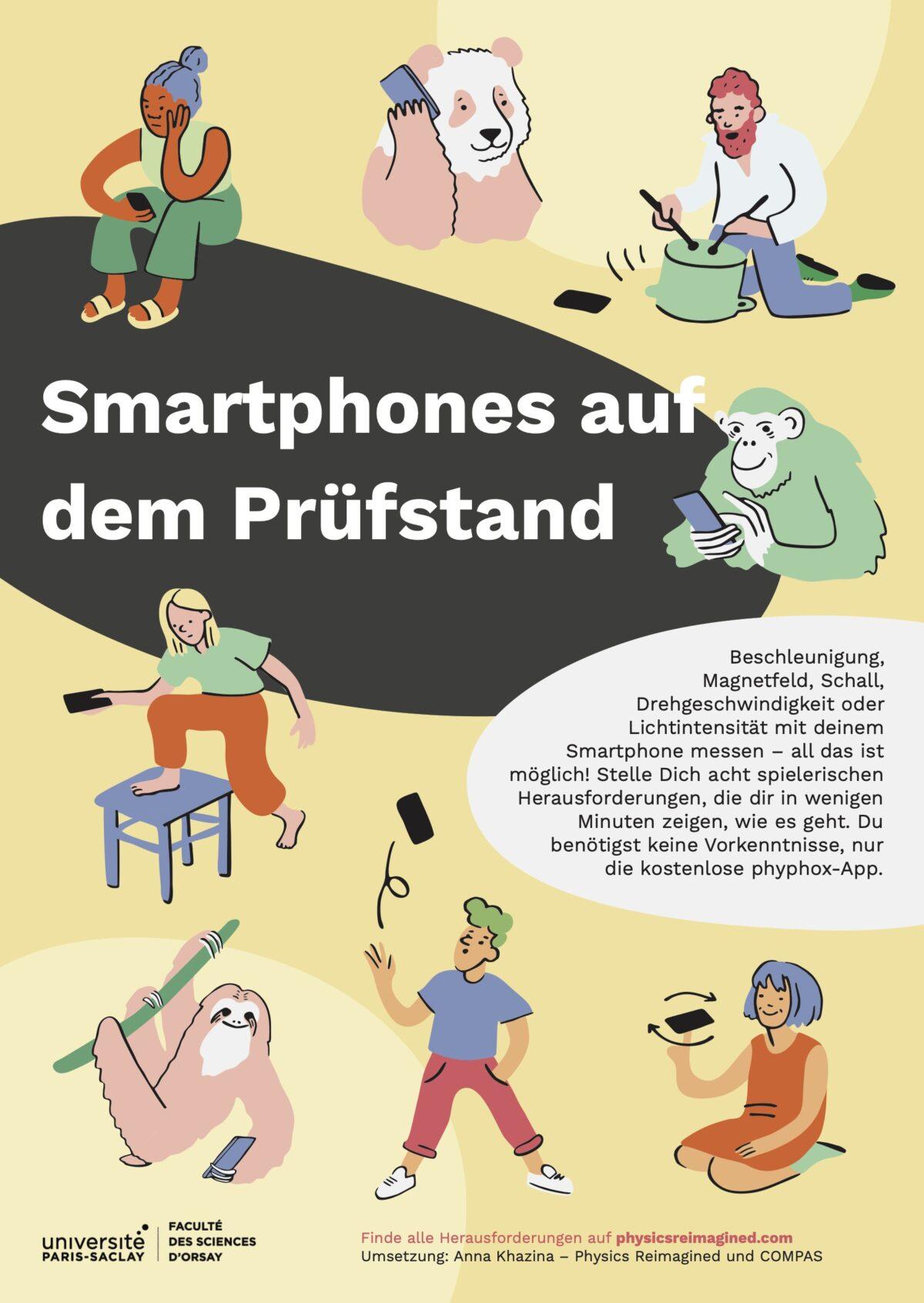 Titelseite von Smartphones auf dem Prüfstand