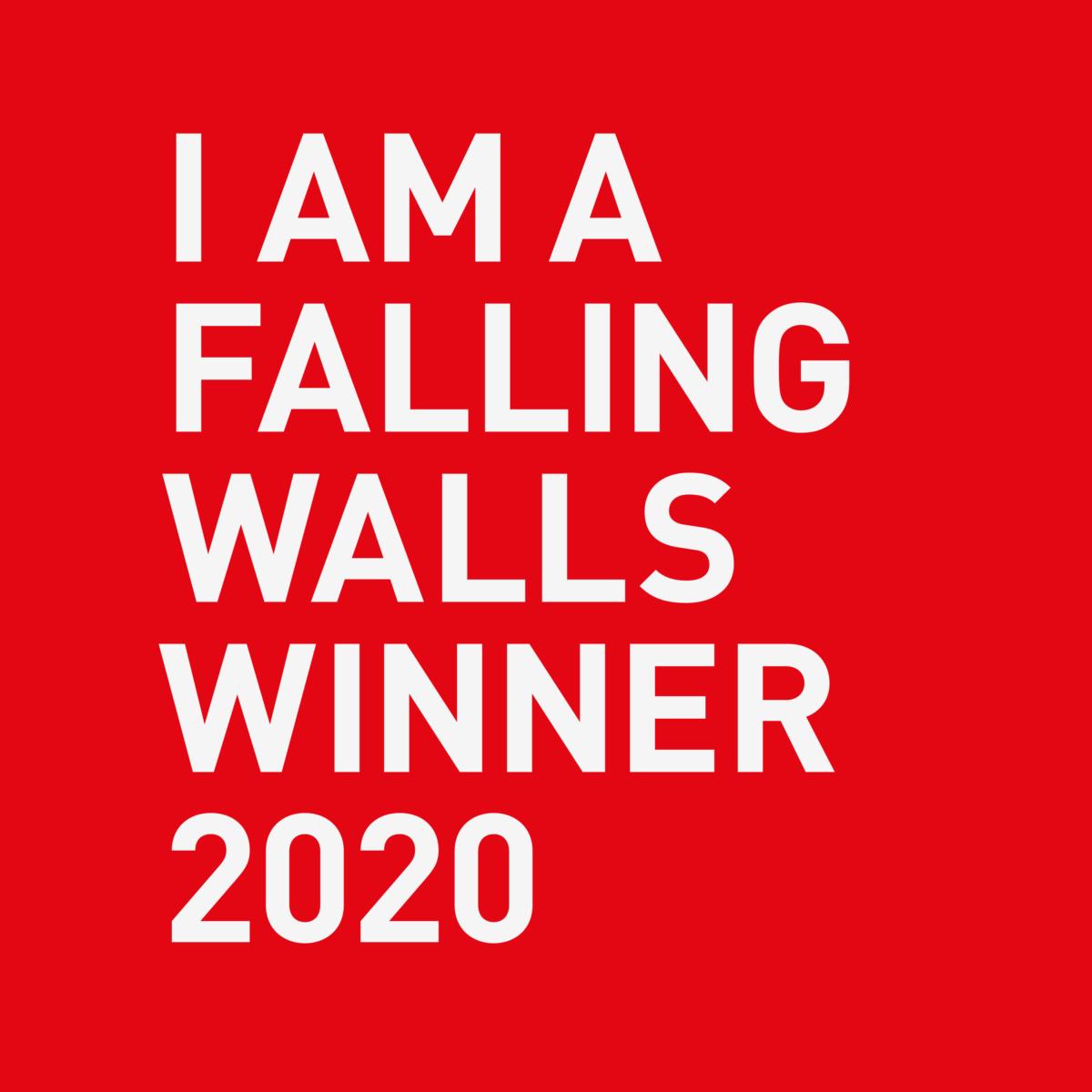 Falling Walls 2020 Winner